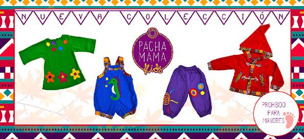ropa hippie colorida chula y divertida para niños, pachamama kids invierno