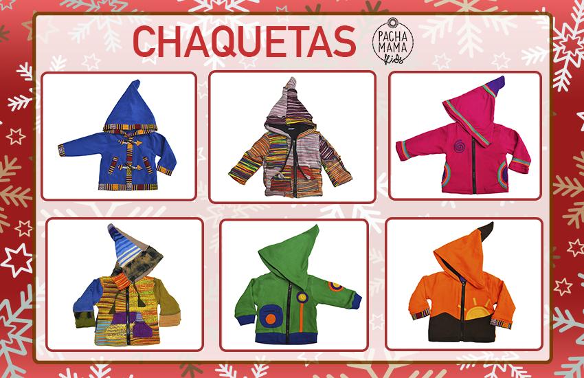 Chaquetas hippies para niños, regalos ideales para navidad, invierno hippie