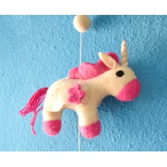 Móvil infantil Unicornio