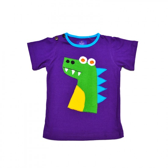 Camiseta Hippie Dinosaurio bebe