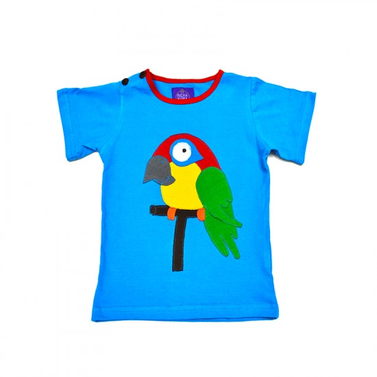 Camiseta Hippie Guacamayo para niños