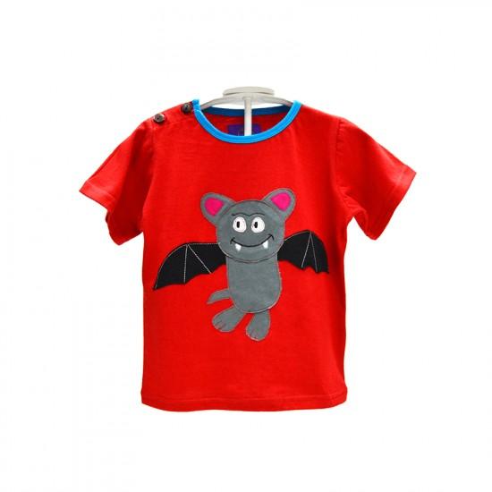 Camiseta Hippie divertida Murciélago para niños