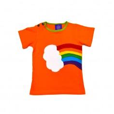 Camiseta Hippie Orgullo Arco Iris