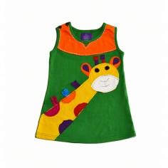 Vestido hippie Jirafa para niñas