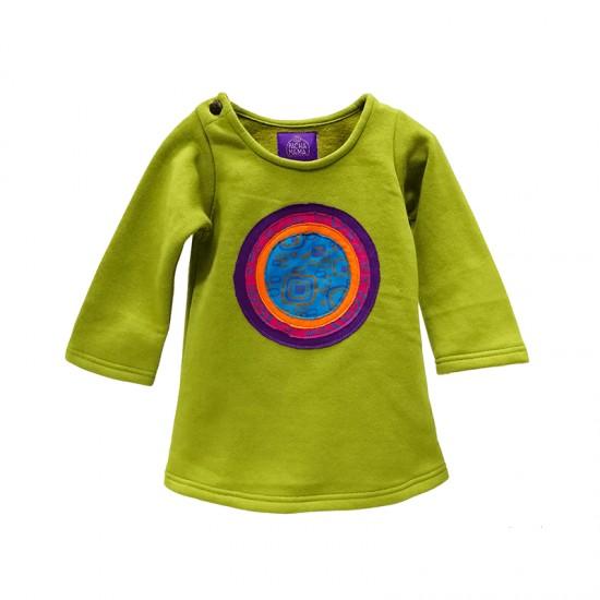 Vestido Hippie Círculo para niñas, ropa étnica y colorido