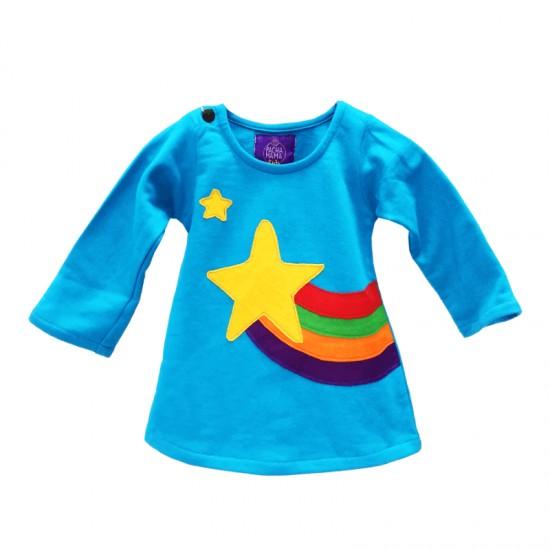 ⛄ Vestido colorido para niñas estilo hippie