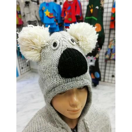 Chaqueta Hippie Koala de lana para niños y niñas
