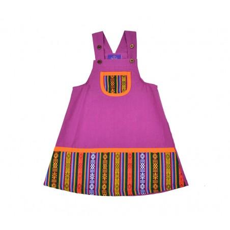 Vestido para niñas etnico Pachamama Kids