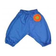 Pantalón Hippie Bebe bubble Azul