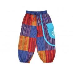 Pantalón Bombacho Patchwork Style