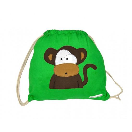 Mochila Infantil sobre Mono
