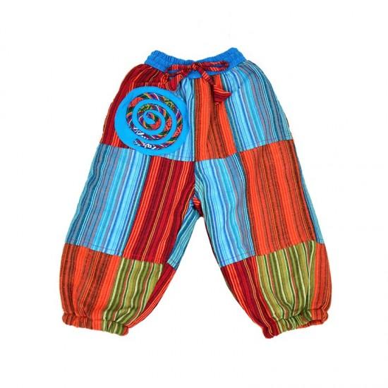 Pantalón hippie niños y bebés con forro polar