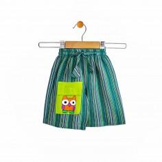Pantalón corto hippie de...
