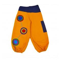 Pantalon Niño Bombacho Bordado