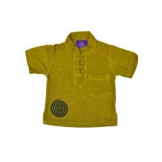 Camisa Lisa Hippie Espiral