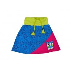 Falda Hippie bordada para niñas