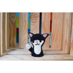 Marioneta de dedo Gato