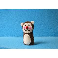 Marioneta de dedo Mono
