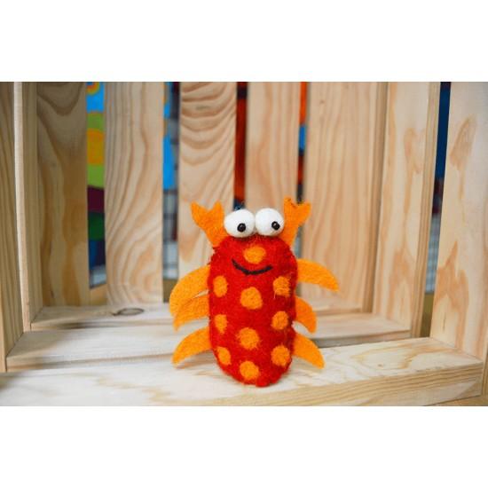 Marioneta de dedo Cangrejo