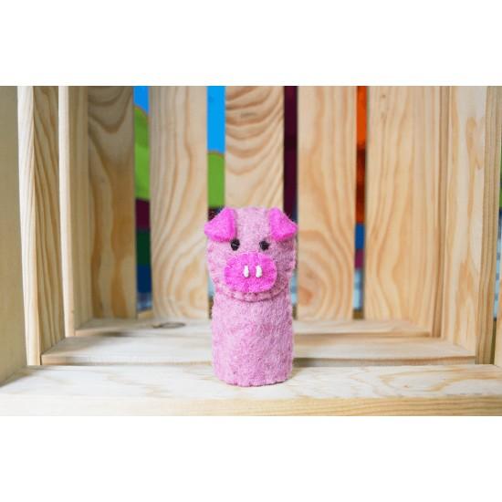 Marioneta de dedo Cerdito