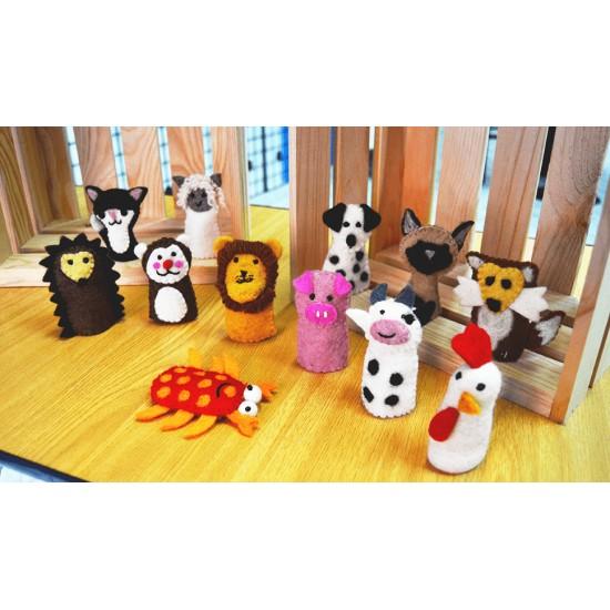 Pack Marionetas de Dedos Animales