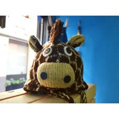 Gorro infantil de lana Jirafa