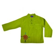 Camisa Lisa Niño étnica