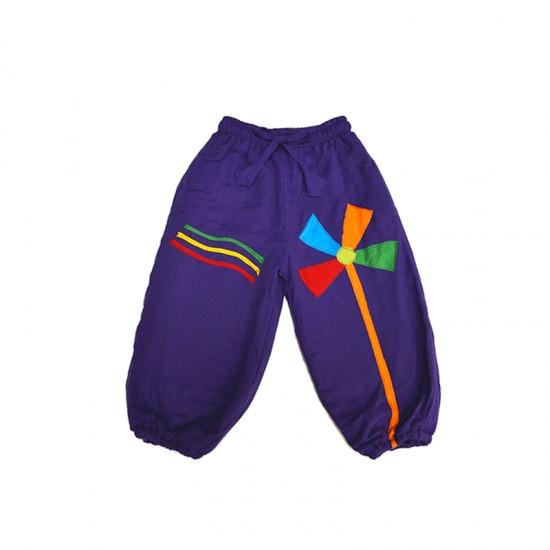 Pantalon bombacho colorido Molinillo