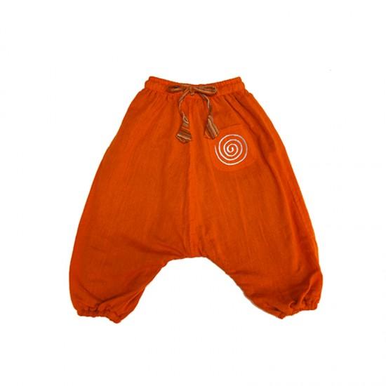Pantalon hippie niño cagado