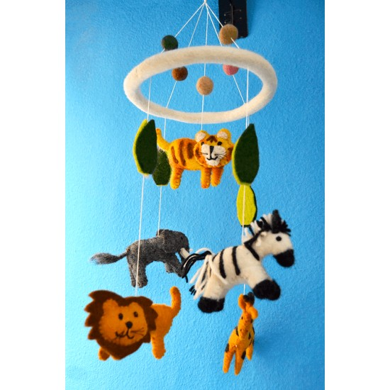 Carrusel Móvil animales de la selva